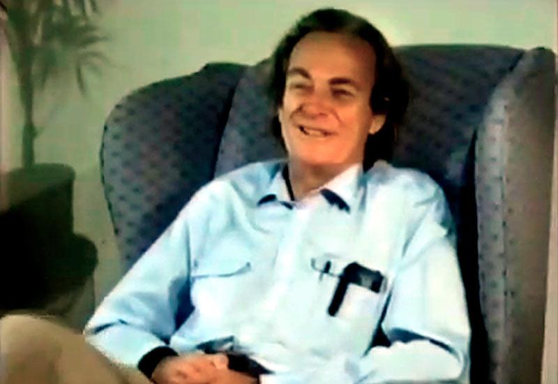 Richard Feynman en el vídeo